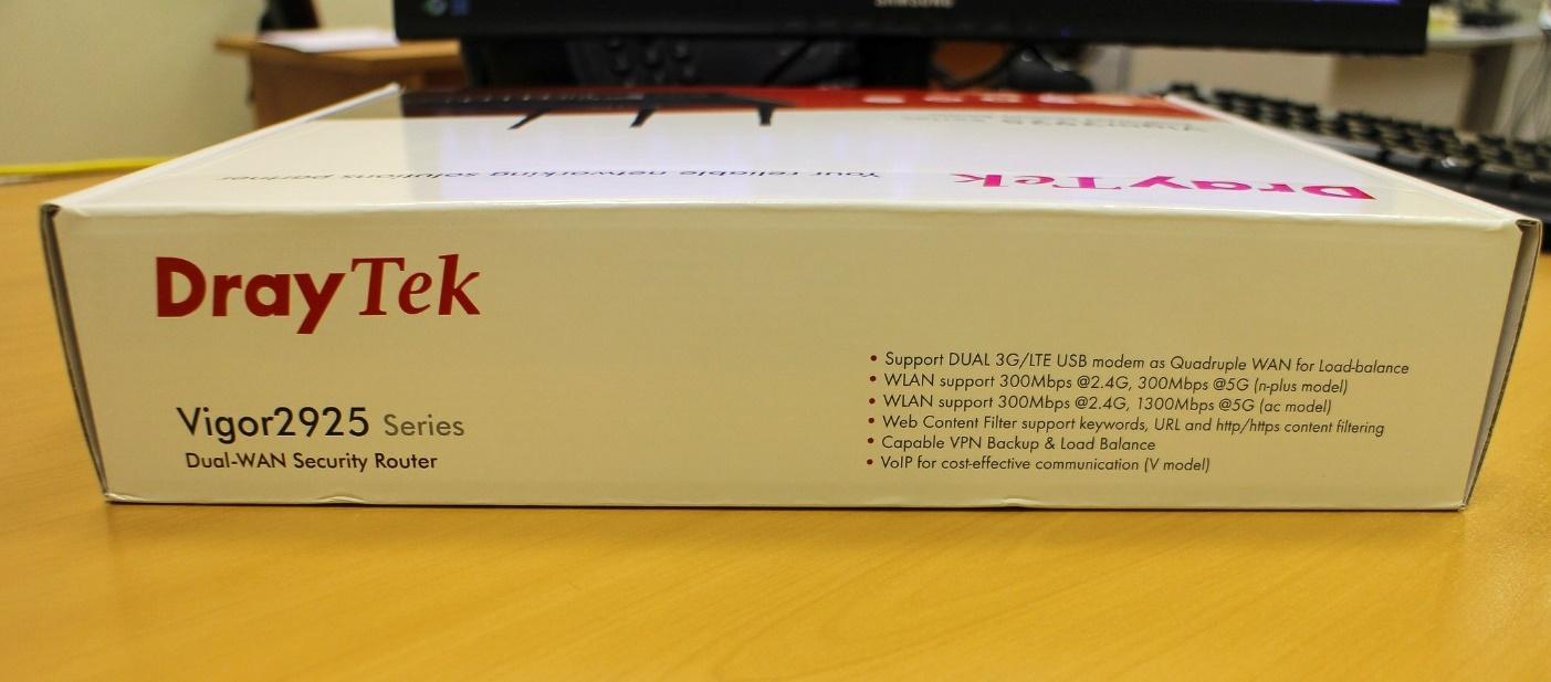 Обзор маршрутизатора Draytek серии 2925. Часть первая: общий обзор, характеристики и тесты - 24
