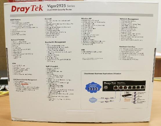 Обзор маршрутизатора Draytek серии 2925. Часть первая: общий обзор, характеристики и тесты - 26