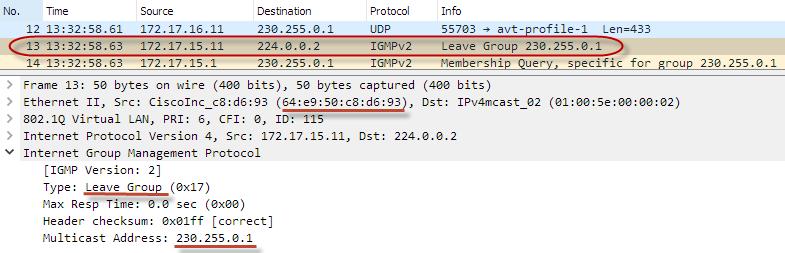 Оптимизация передачи multicast-трафика в локальной сети с помощью IGMP snooping - 22