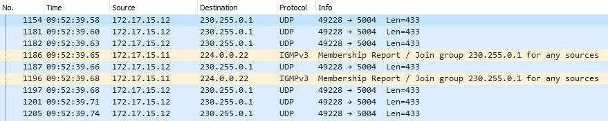 Оптимизация передачи multicast-трафика в локальной сети с помощью IGMP snooping - 30