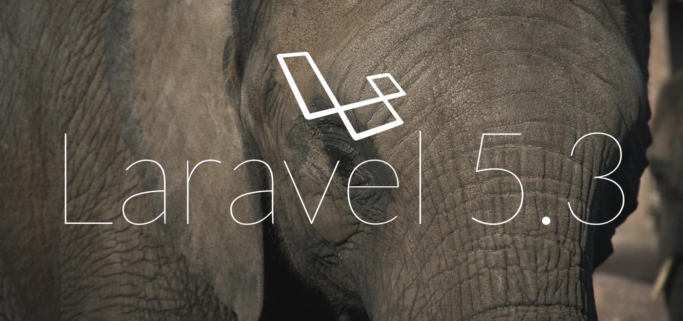 Laravel 5.3
