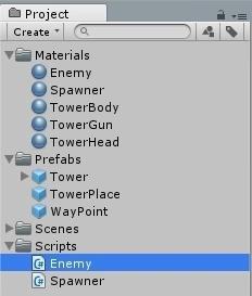 Tower Defence на движке Unity — Часть 2 - 6