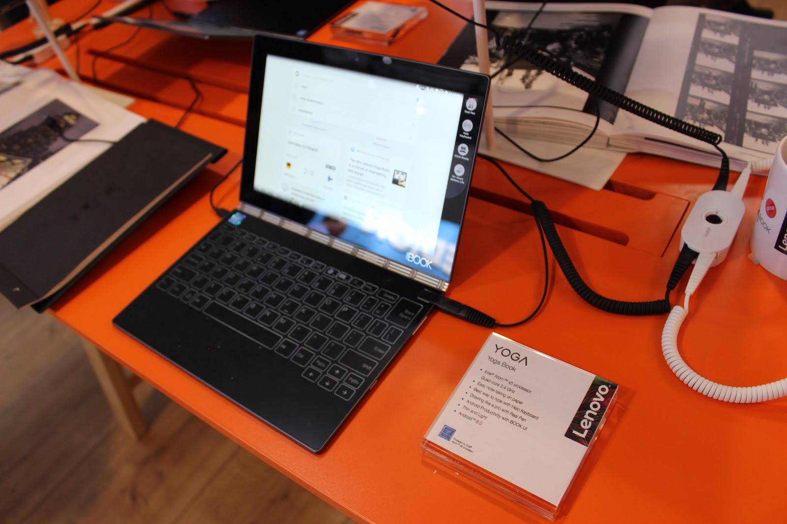 Гвоздь программы: Lenovo YOGA Book на IFA 2016 - 2