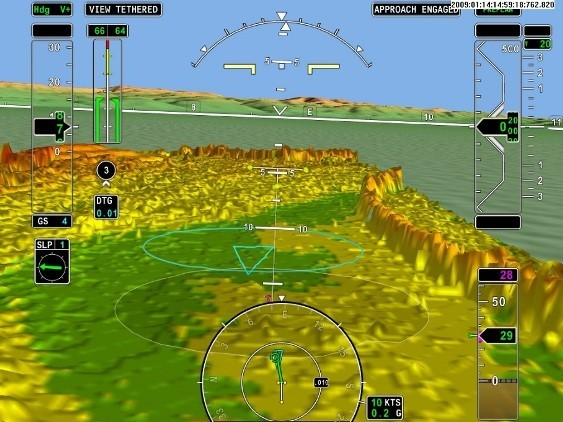 Сажаем вертолет вслепую: обзор технологий синтетического зрения - 11