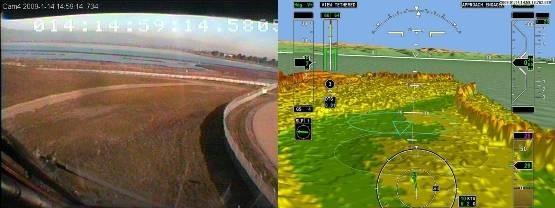 Сажаем вертолет вслепую: обзор технологий синтетического зрения - 9