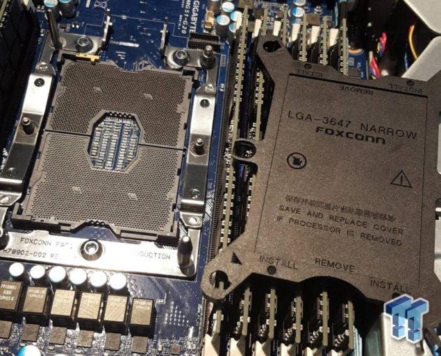 Стали известны параметры процессоров Intel Xeon V5 поколения Skylake