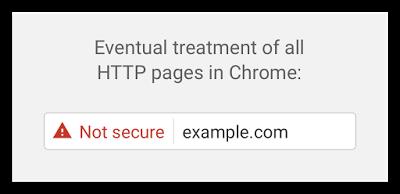 В будущих версиях Chrome указание на отсутствие шифрования станет еще более явным