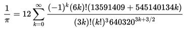 Вычисление 1000000 знаков числа Пи. На iPhone - 5