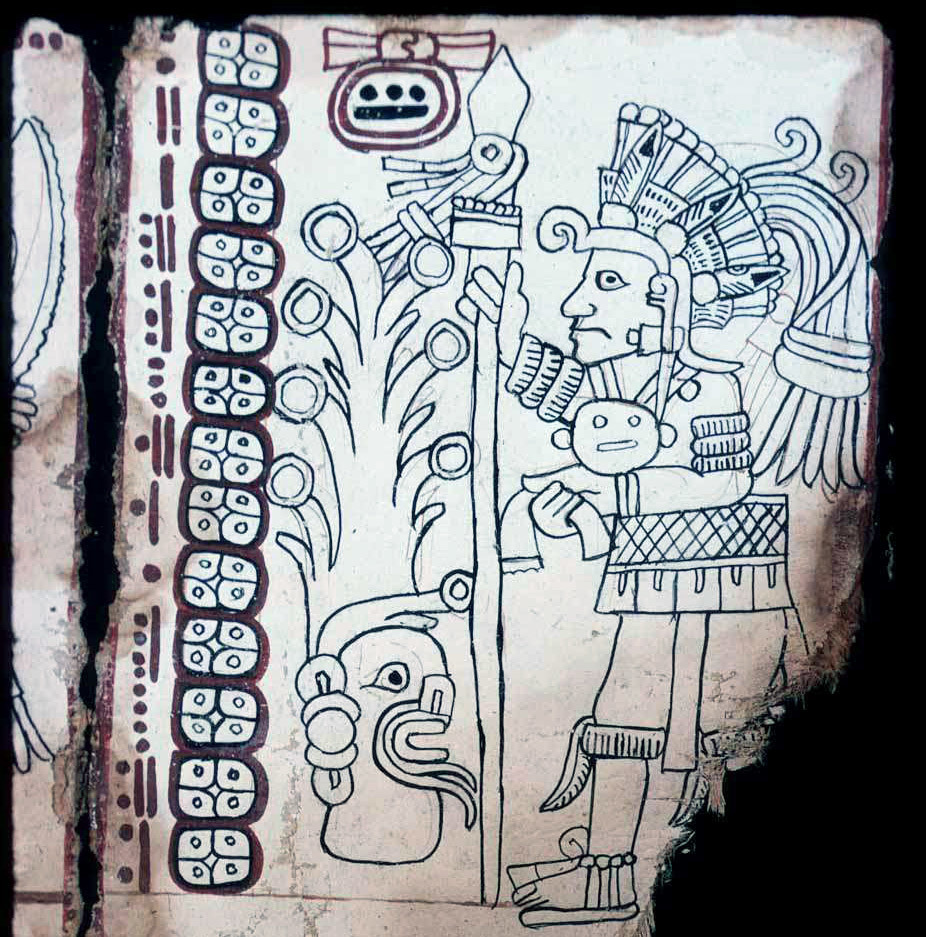 Доказана аутентичность Кодекса Гролье — четвёртого сохранившегося кодекса майя - 1