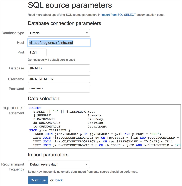 Как отобразить динамическую выгрузку из БД на страницах Atlassian Confluence? - 16