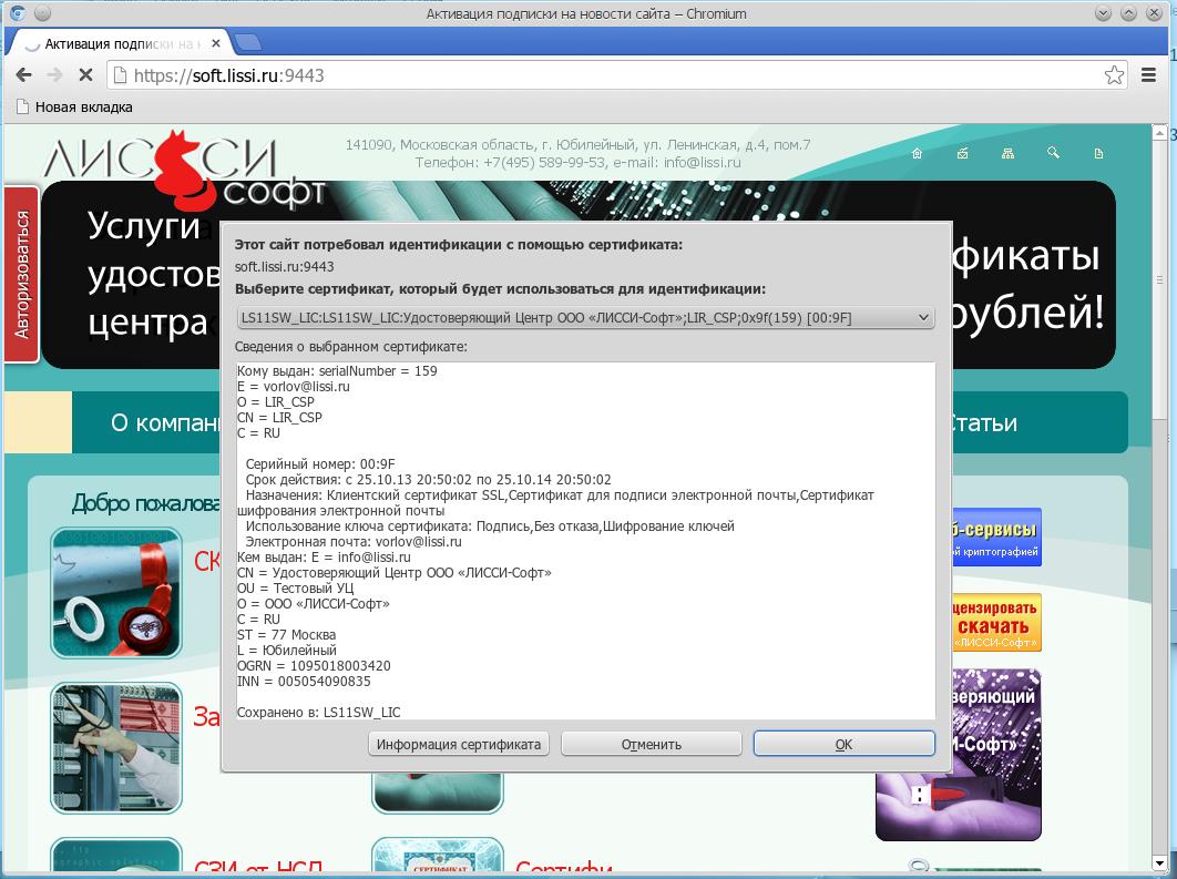 О перспективах поддержки российских шифрсьютов в браузерах Chrome от Google - 3