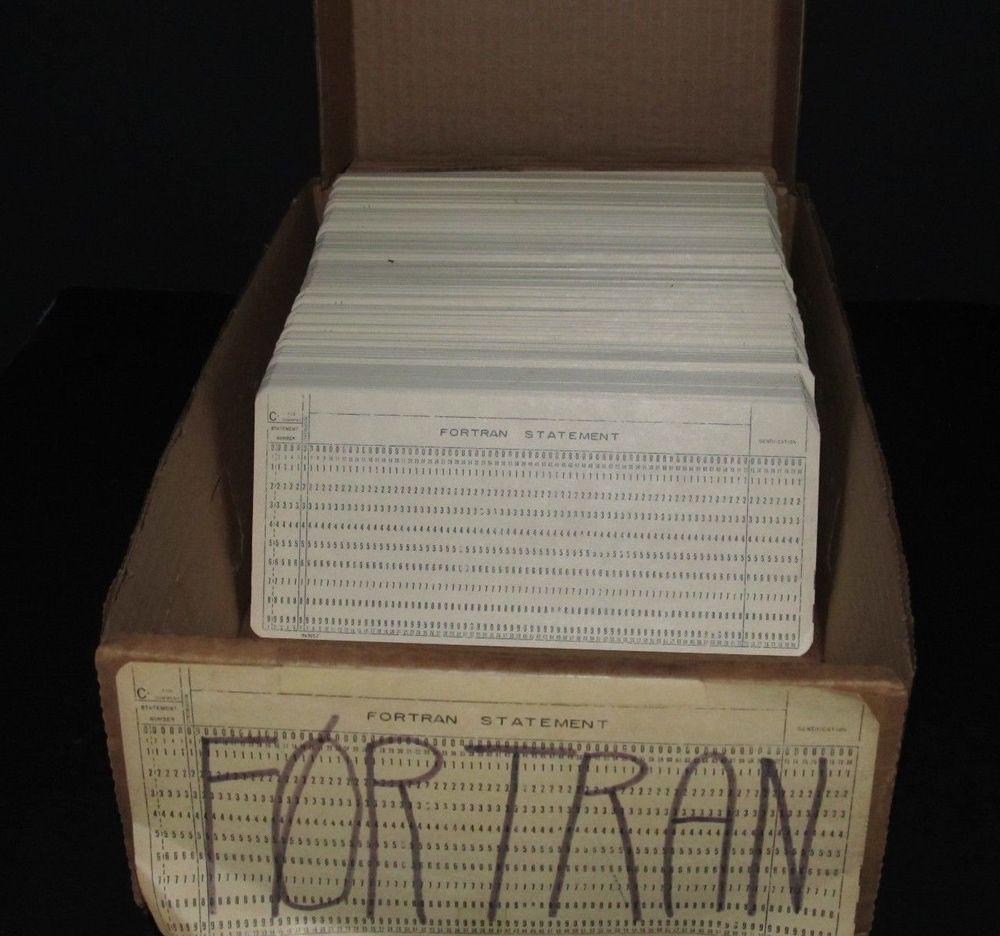 История языков программирования: как Fortran позволил пользователям общаться с ЭВМ на «ты» - 4