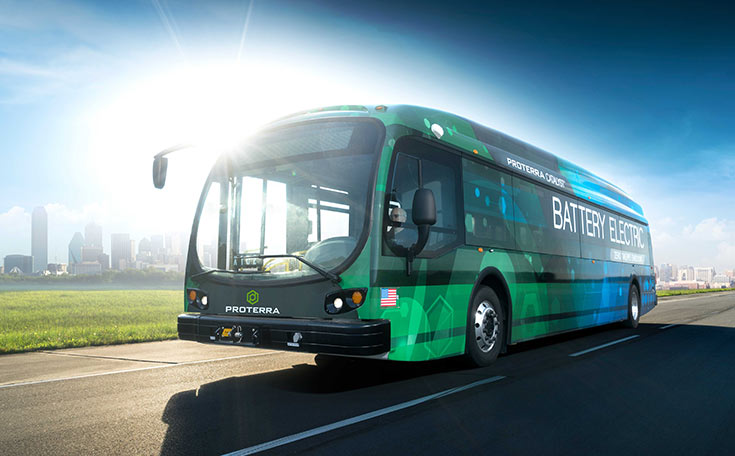 Запаса автономности электробусу Proterra Catalyst E2 хватает на целый день