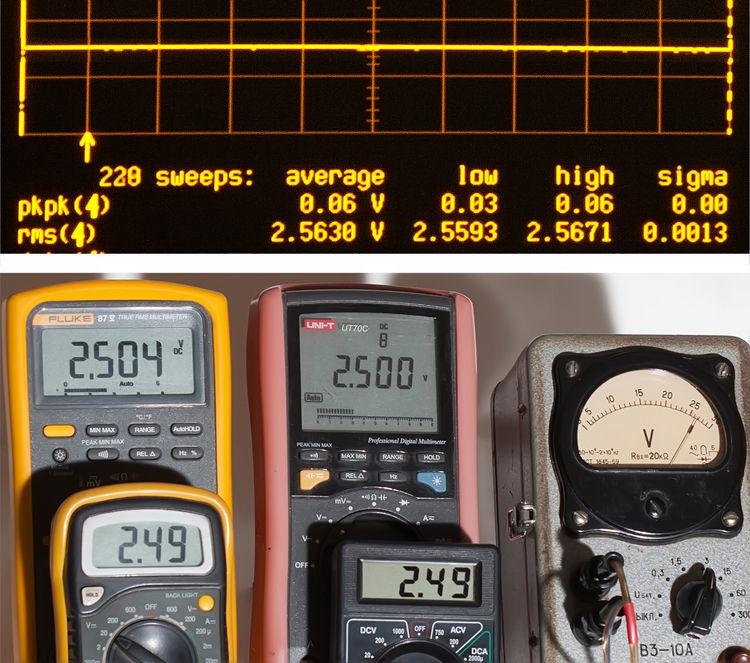 Тестирование мультиметров, а также об ошибках измерения - 10