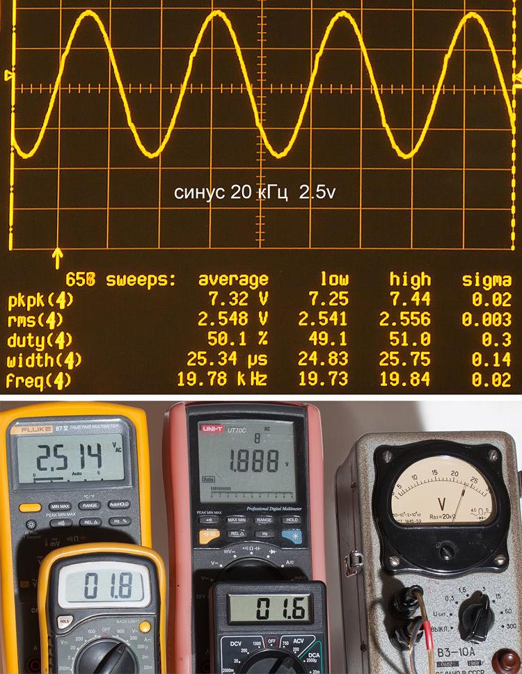 Тестирование мультиметров, а также об ошибках измерения - 14