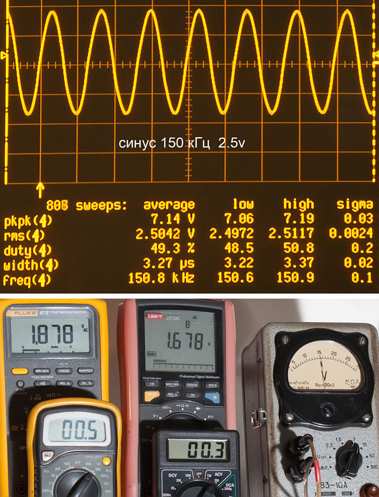 Тестирование мультиметров, а также об ошибках измерения - 16