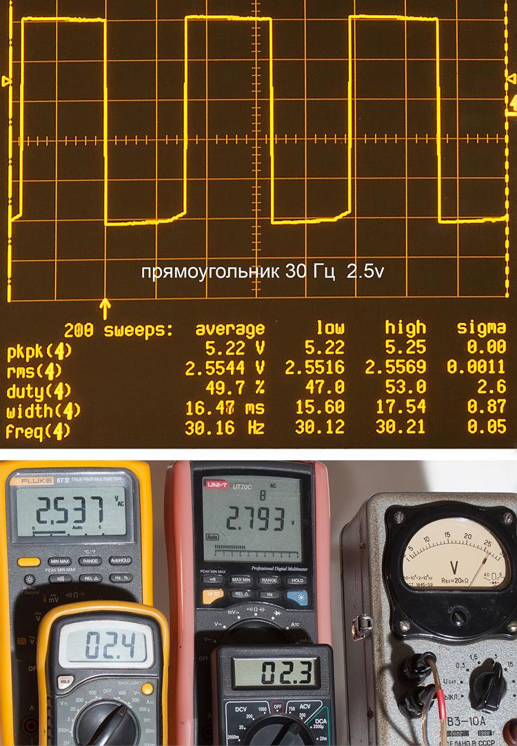 Тестирование мультиметров, а также об ошибках измерения - 17
