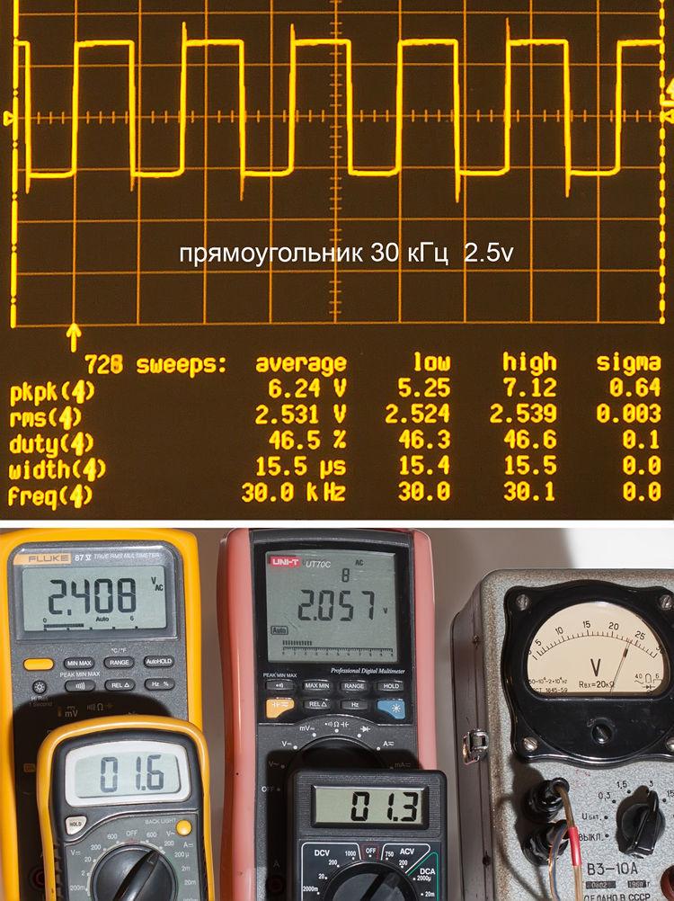 Тестирование мультиметров, а также об ошибках измерения - 19
