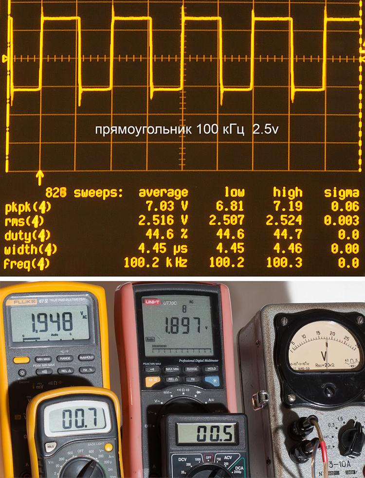 Тестирование мультиметров, а также об ошибках измерения - 20