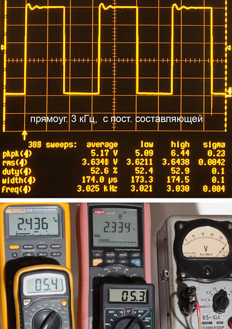 Тестирование мультиметров, а также об ошибках измерения - 22