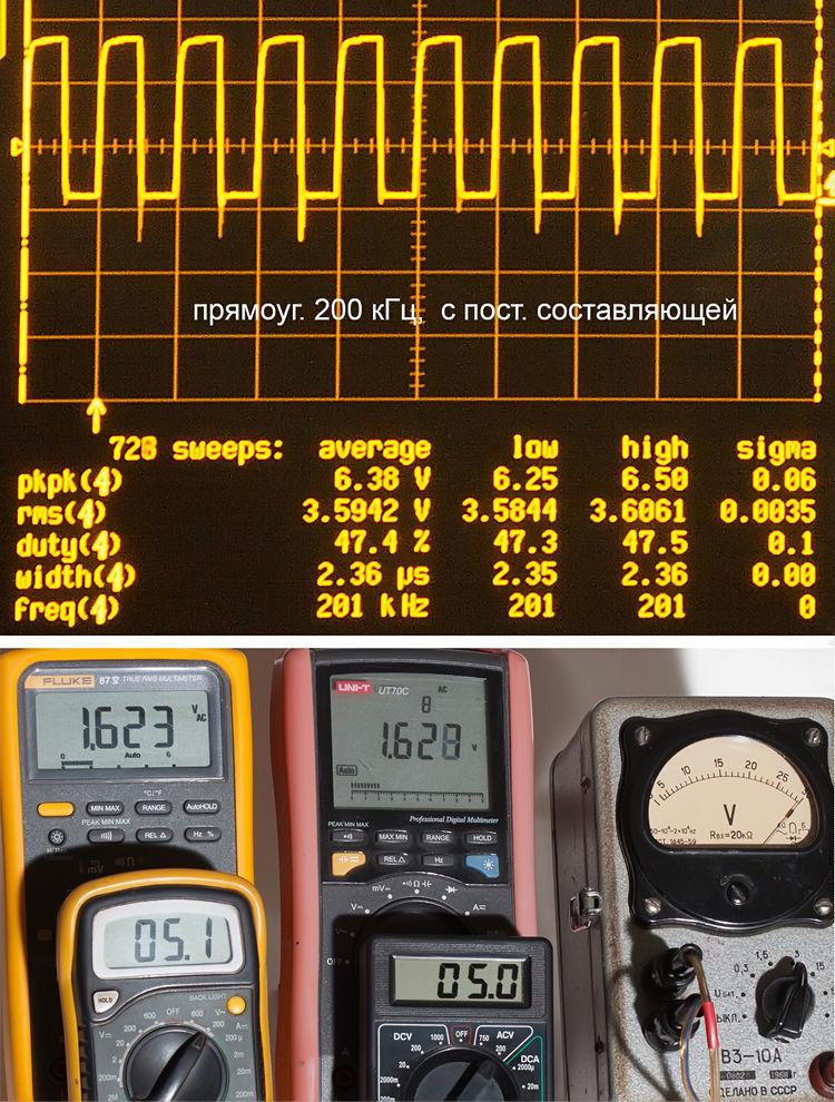 Тестирование мультиметров, а также об ошибках измерения - 24