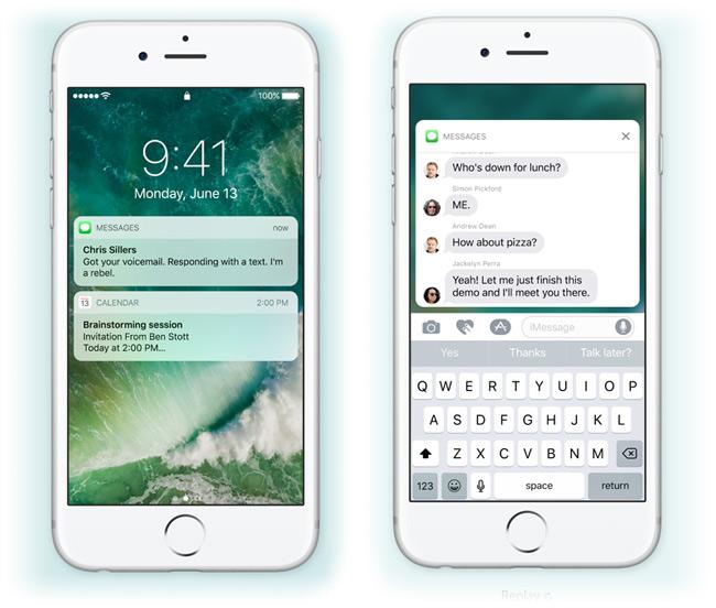Обновления Apple iOS 10, watchOS 3 и tvOS 10 были представлены на WWDC 2016 в начале июня