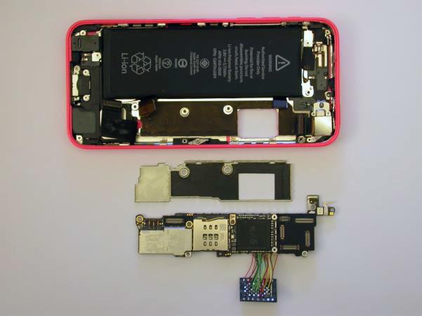 Демонстрация брутфорса пароля iPhone 5c c зеркалированием флэш-памяти - 7