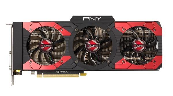 PNY представила видеокарту GeForce GTX 1080 XLR8 OC