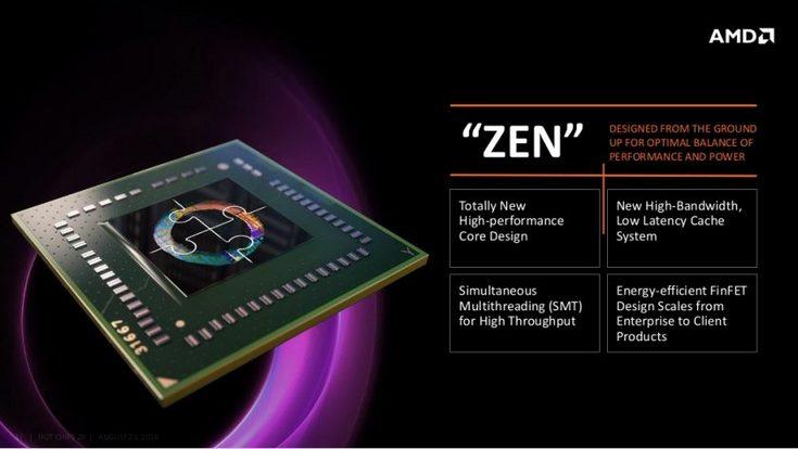 Мобильные процессоры AMD Zen не сильно задержаться в сравнении с настольными