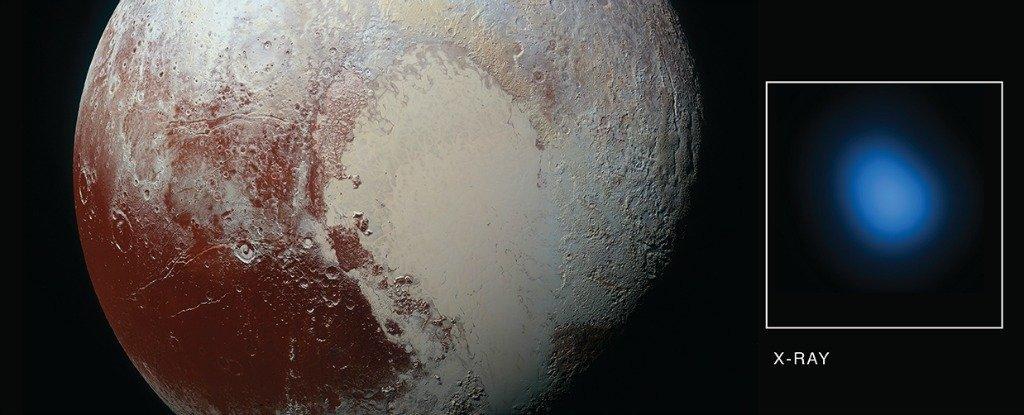 Плутон почему-то светится в рентгеновском диапазоне - 1