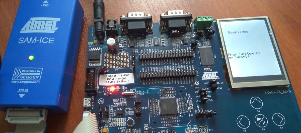 Atmel ARM в DIY?! «Hello world» в Atmel Studio для Cortex M4 - 1