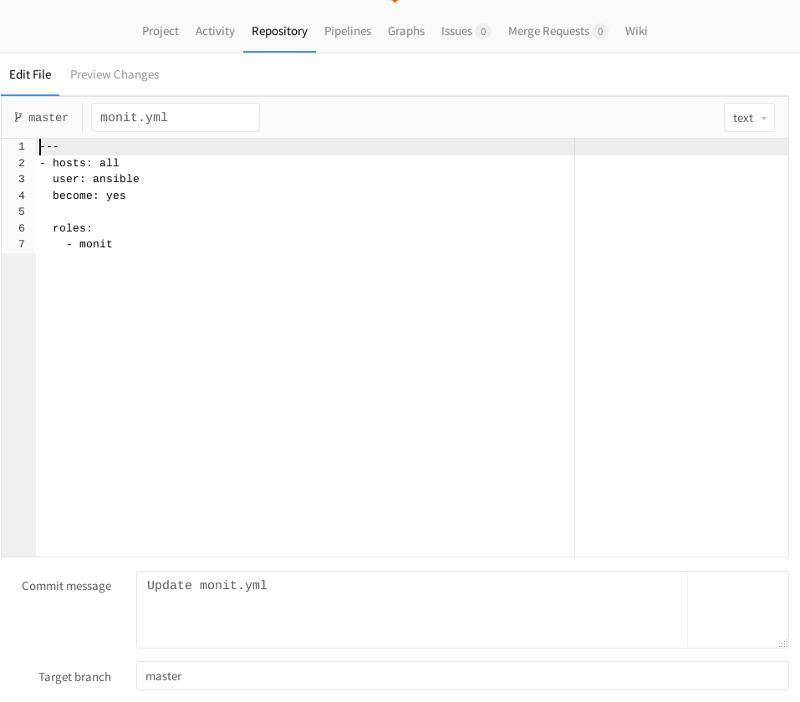Gitlab-CI и проверка корректности синтаксиса Ansible-lint - 10