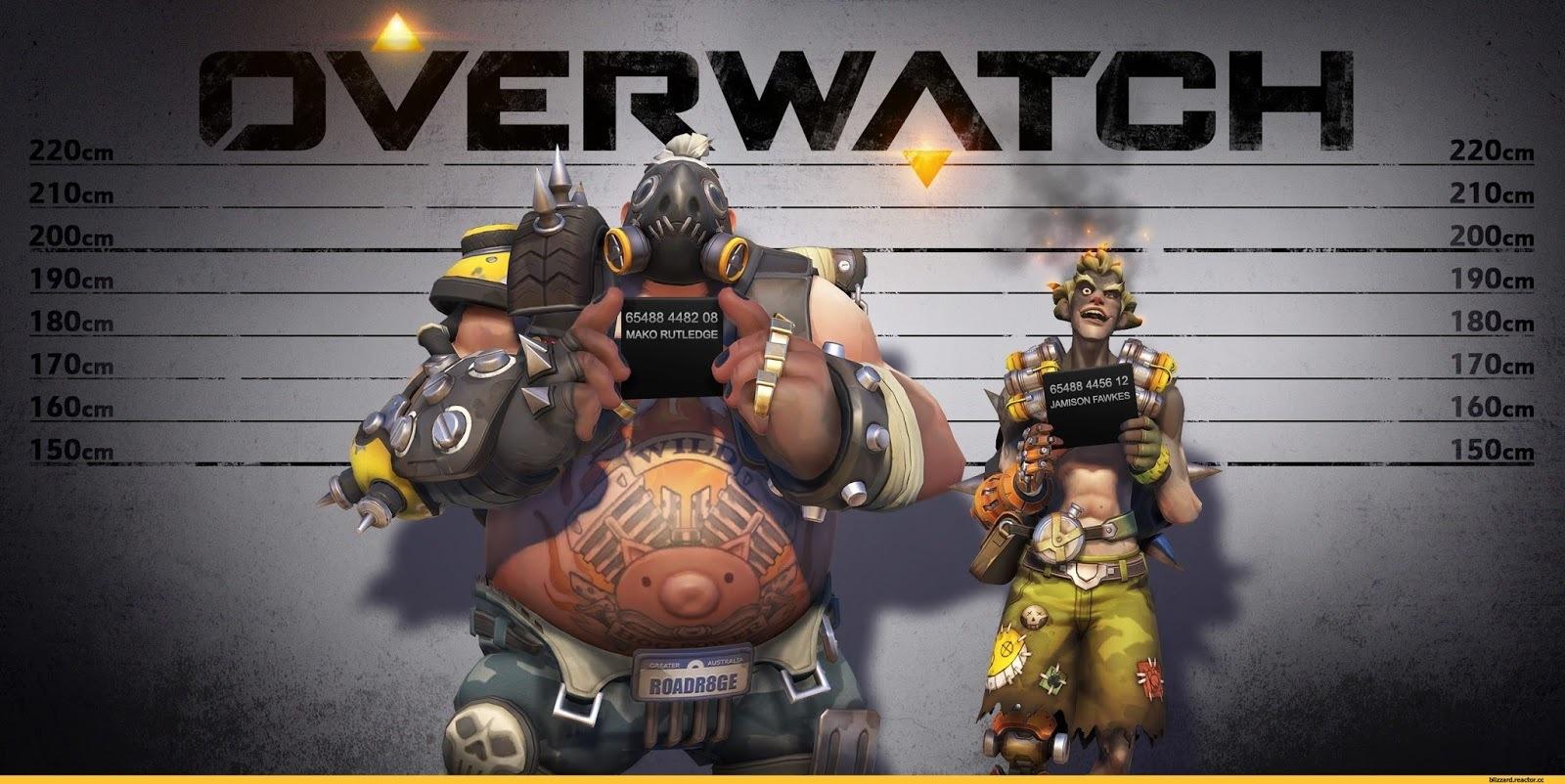 Как герои игры OverWatch однажды облысели, а мы вернули им шевелюры - 6
