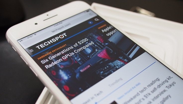 Apple iPhone 7 — носитель отличного дисплея