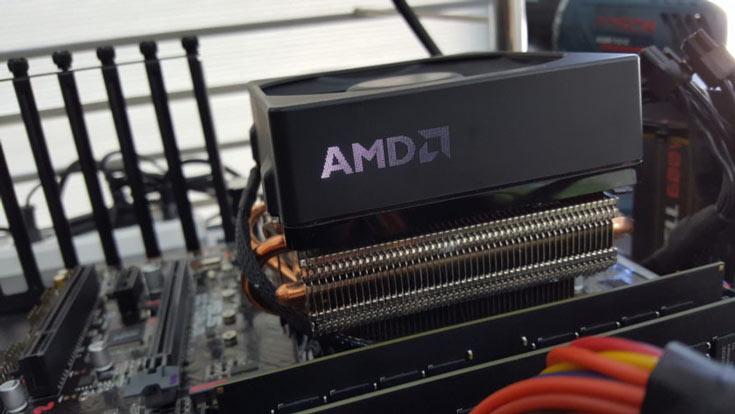 Конфигурация AMD A12-9800 включает четырехъядерный CPU