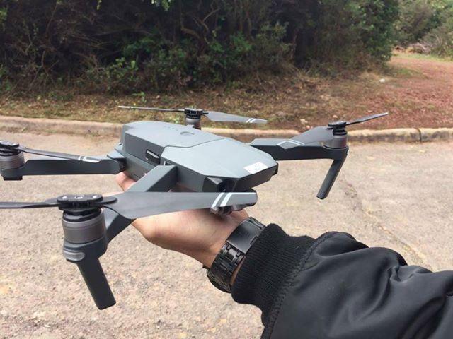 Анонс складного дрона DJI Mavic перенесли на 27 сентября. Опубликованы новые фотографии