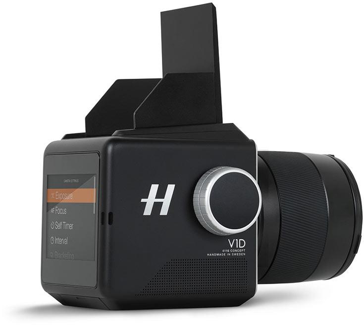 Корпус камеры Hasselblad V1D 4116 Concept изготовлен фрезерованием из алюминиевого бруска