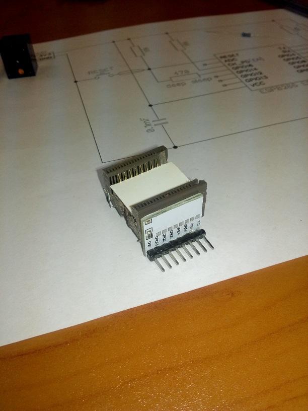 Панелька для ESP8266 ESP-12 - 10