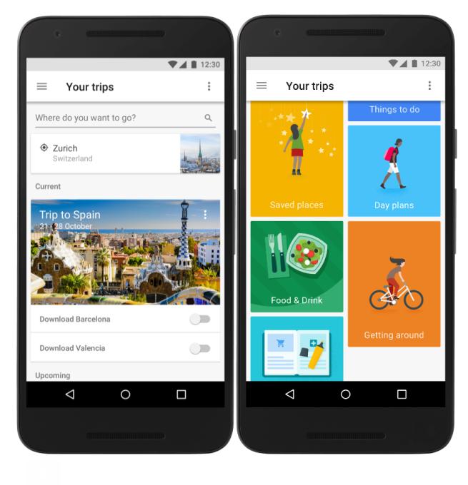 Приложение Google Trips поможет спланировать путешествие