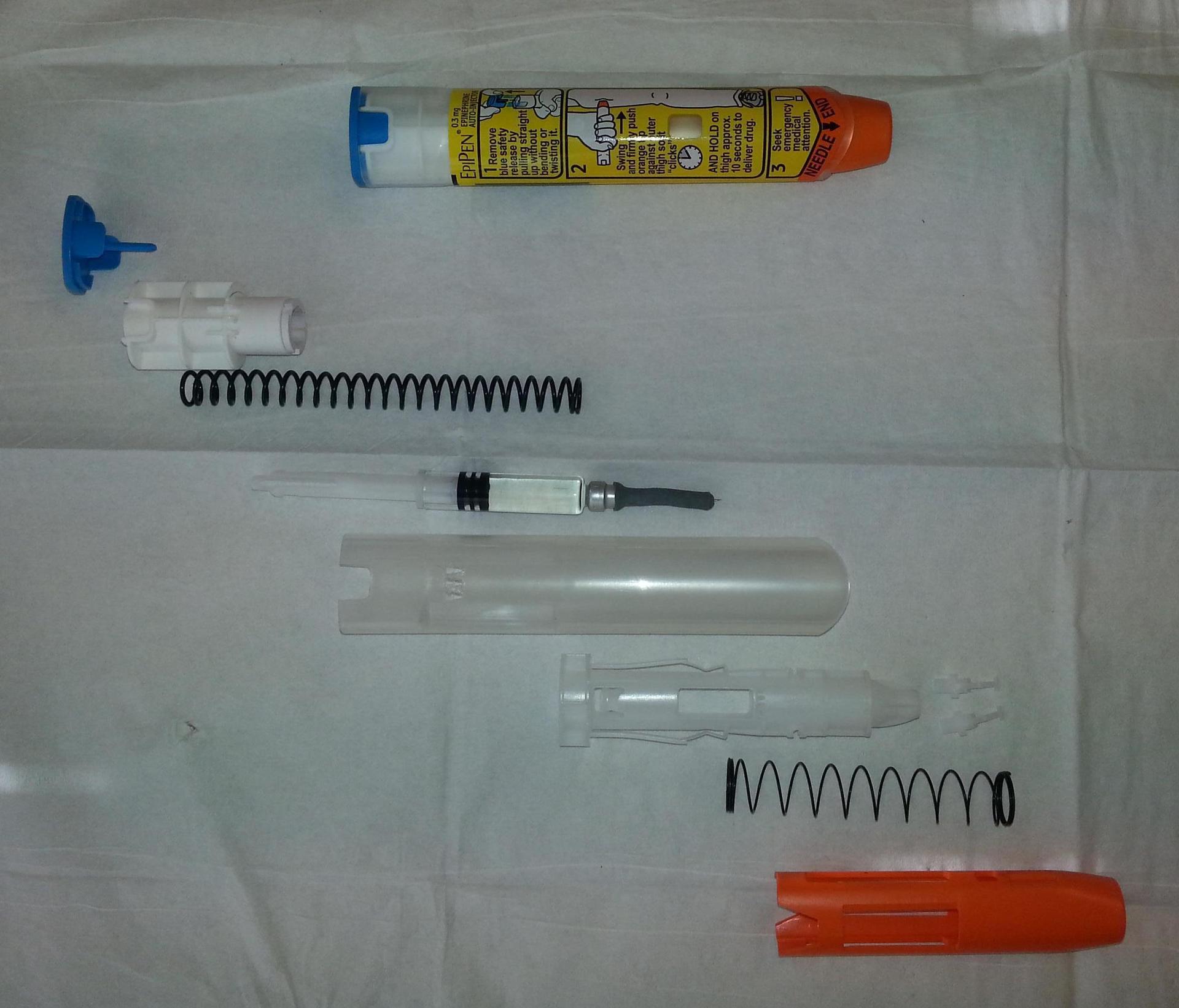 DIY-энтузиасты собрали автоинъектор, аналог EpiPen, за $28,50 - 3