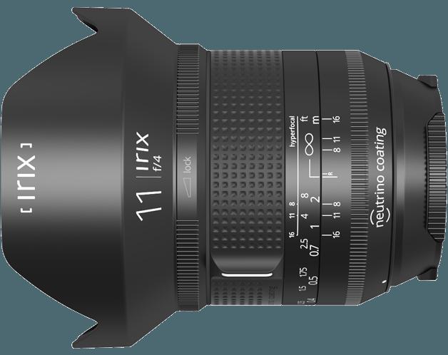 Данных о цене Irix 11mm f/4 пока нет