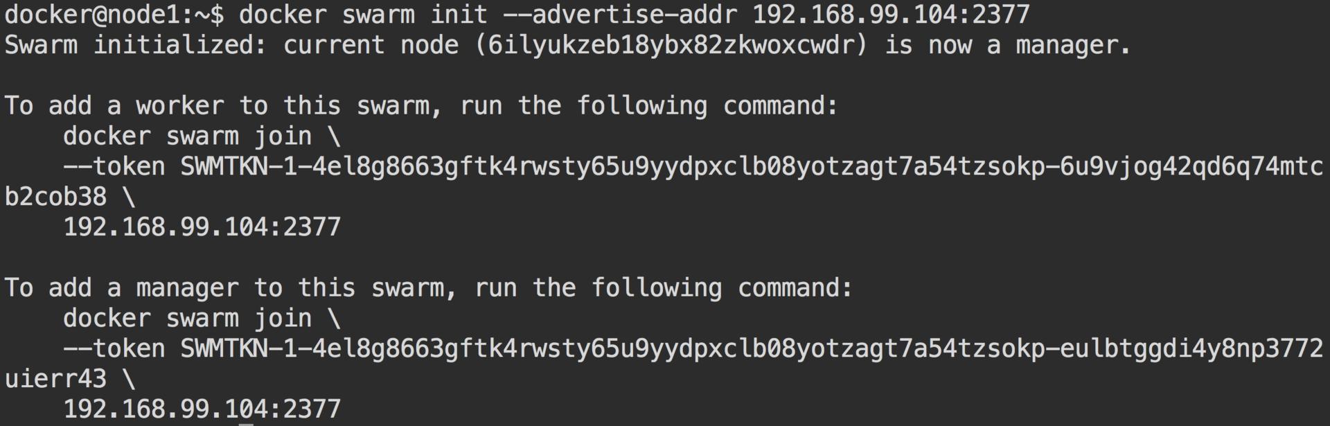 Кластер Docker Swarm за 30 секунд - 2