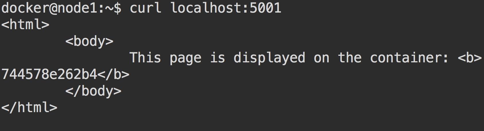 Кластер Docker Swarm за 30 секунд - 4