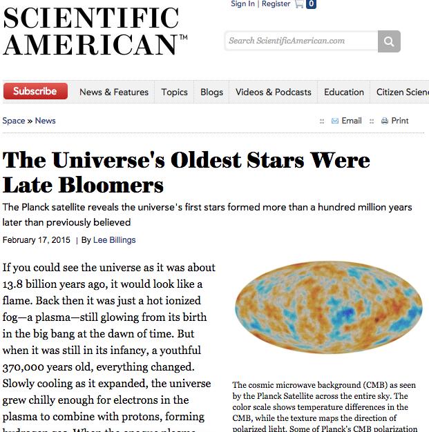 Невидимы ли первые звёзды Вселенной? - 9