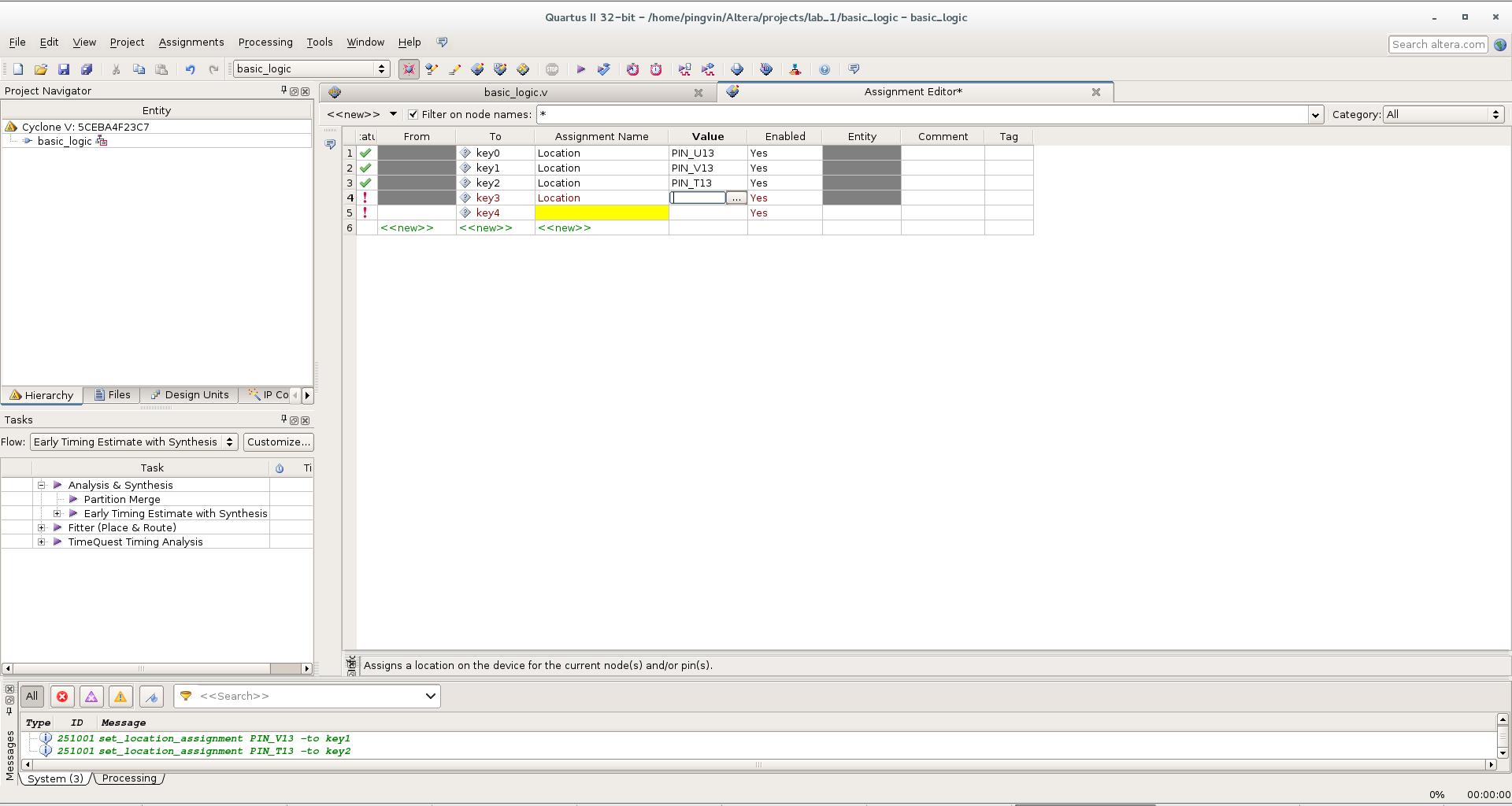 Первый проект на FPGA Altera и подключение USB-Blaster в Linux - 14