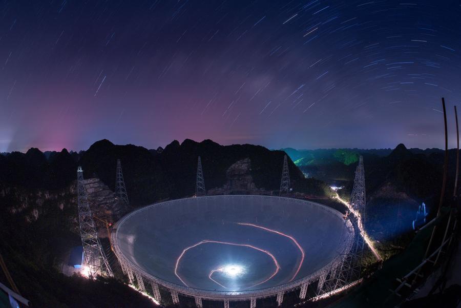 Китай открыл Небесный глаз. Сегодня начал работу крупнейший в мире радиотелескоп - 6