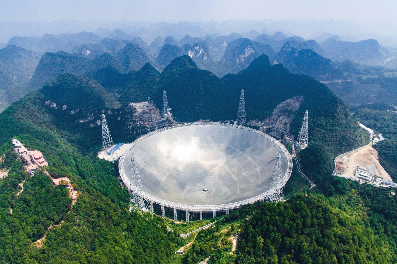 Китай открыл Небесный глаз. Сегодня начал работу крупнейший в мире радиотелескоп - 1