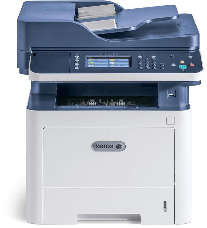 МФУ Xerox WorkCentre 3335 рассчитано на максимальную нагрузку 50 000 страниц в месяц