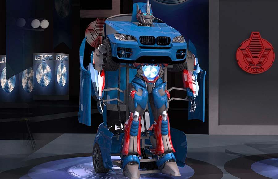 Турецкая компания разработала настоящих трансформеров-автоботов - 2