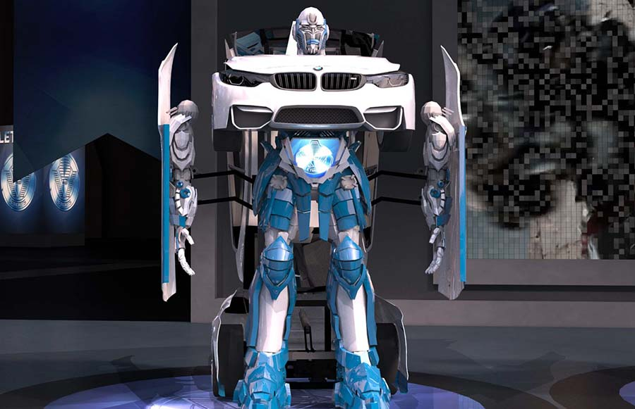 Турецкая компания разработала настоящих трансформеров-автоботов - 3